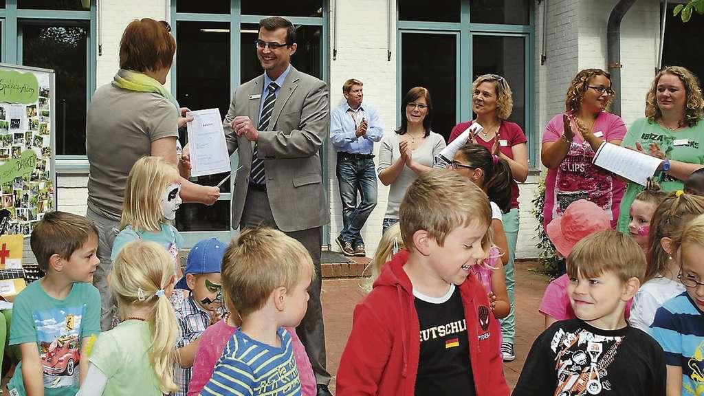 Außenküche Für Kinder : Drk kindergarten u eholzwurmu c neu gestaltet spielplatz jetzt mit