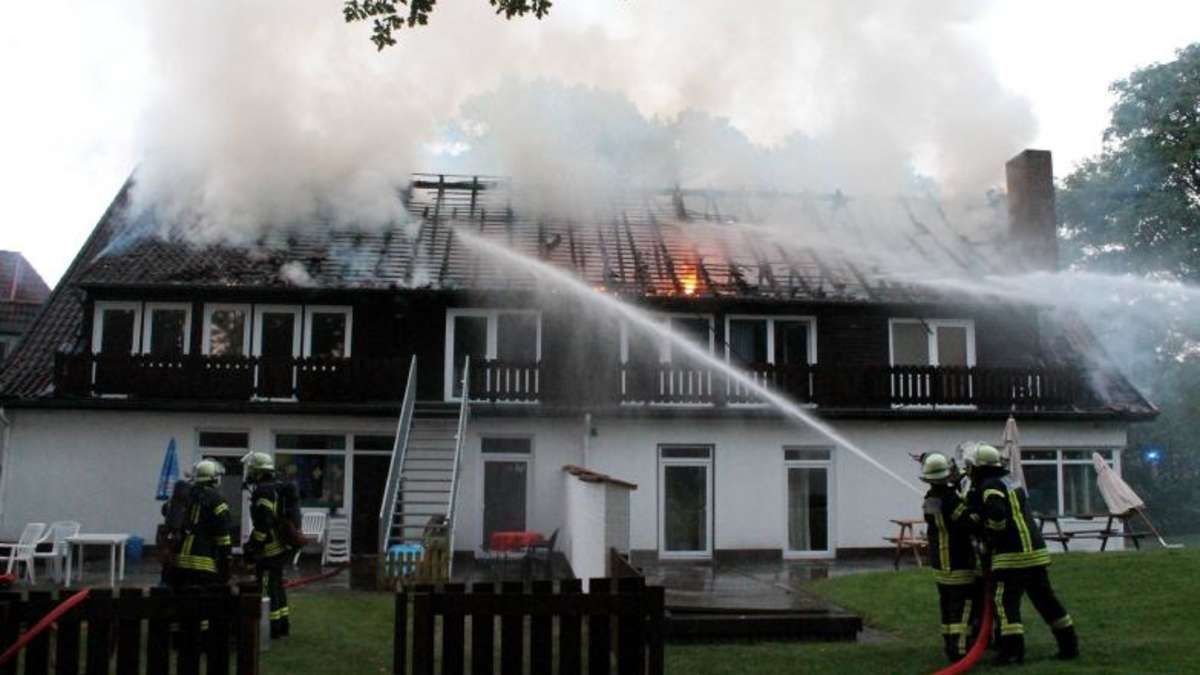 Bad Fallingbostel Brand In Kinder Und