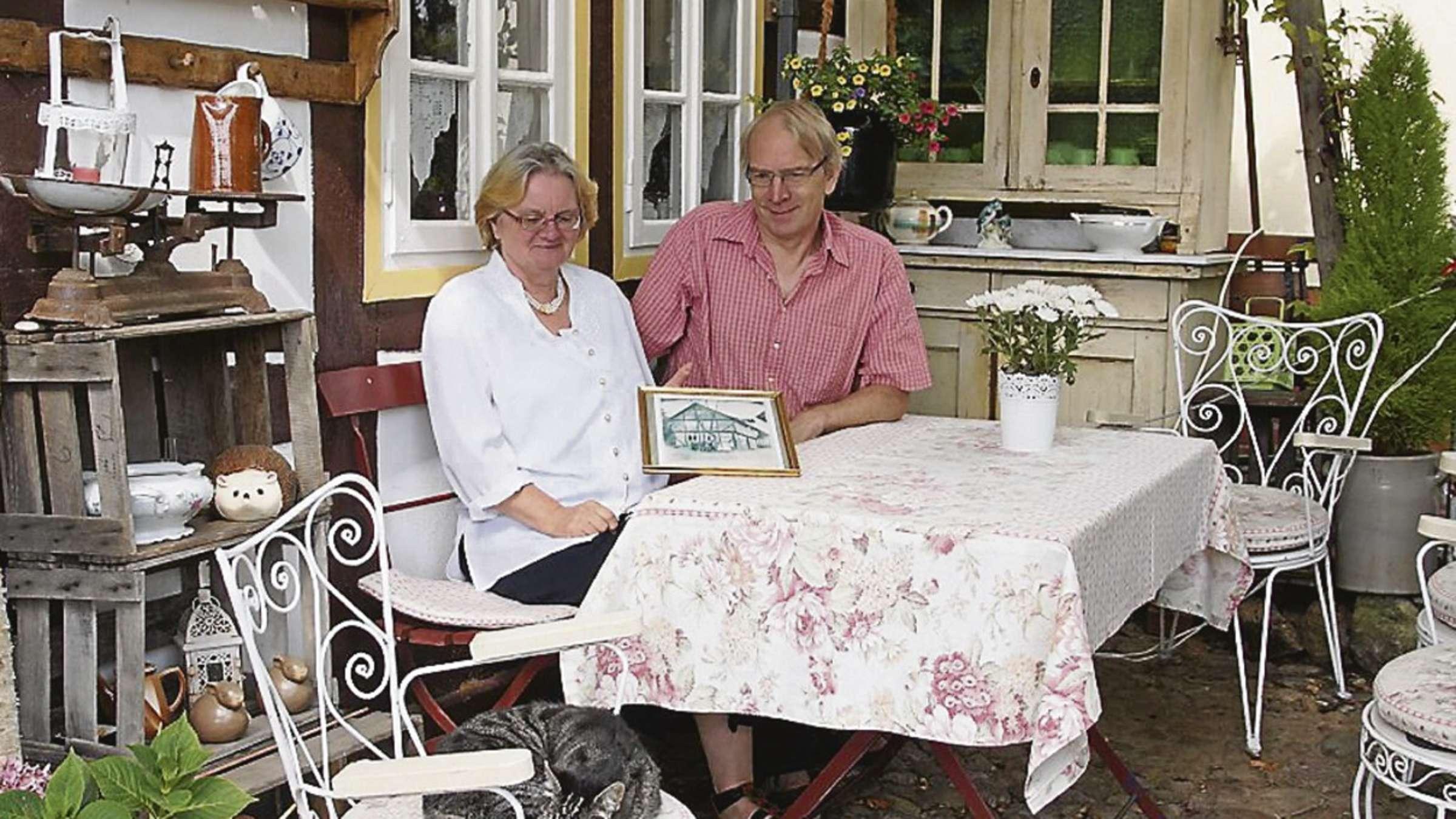 Heike Schafer Und Udo Fink Wohnen Im 230 Jahre Alten Keunecke Haus Barnstorf