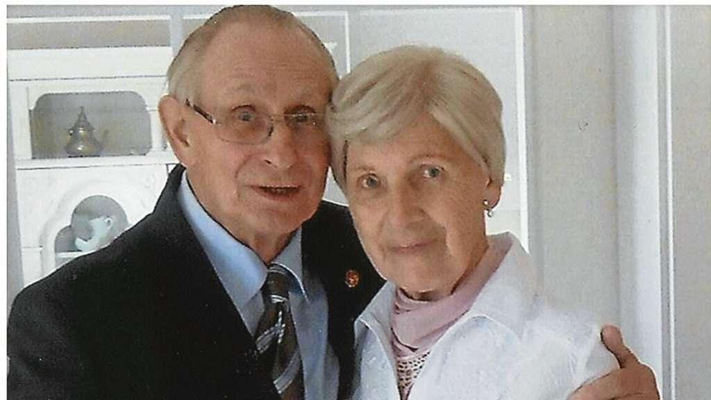 Helga Und Helmut Jantzen Sind Seit 60 Jahren Verheiratet Funf