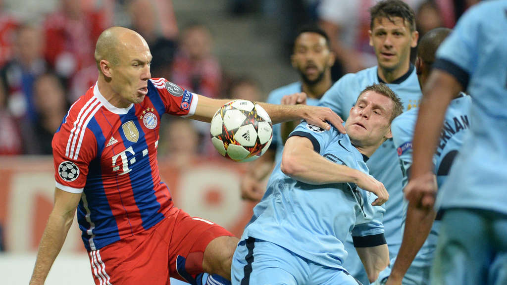 Arjen Robben, James Milner