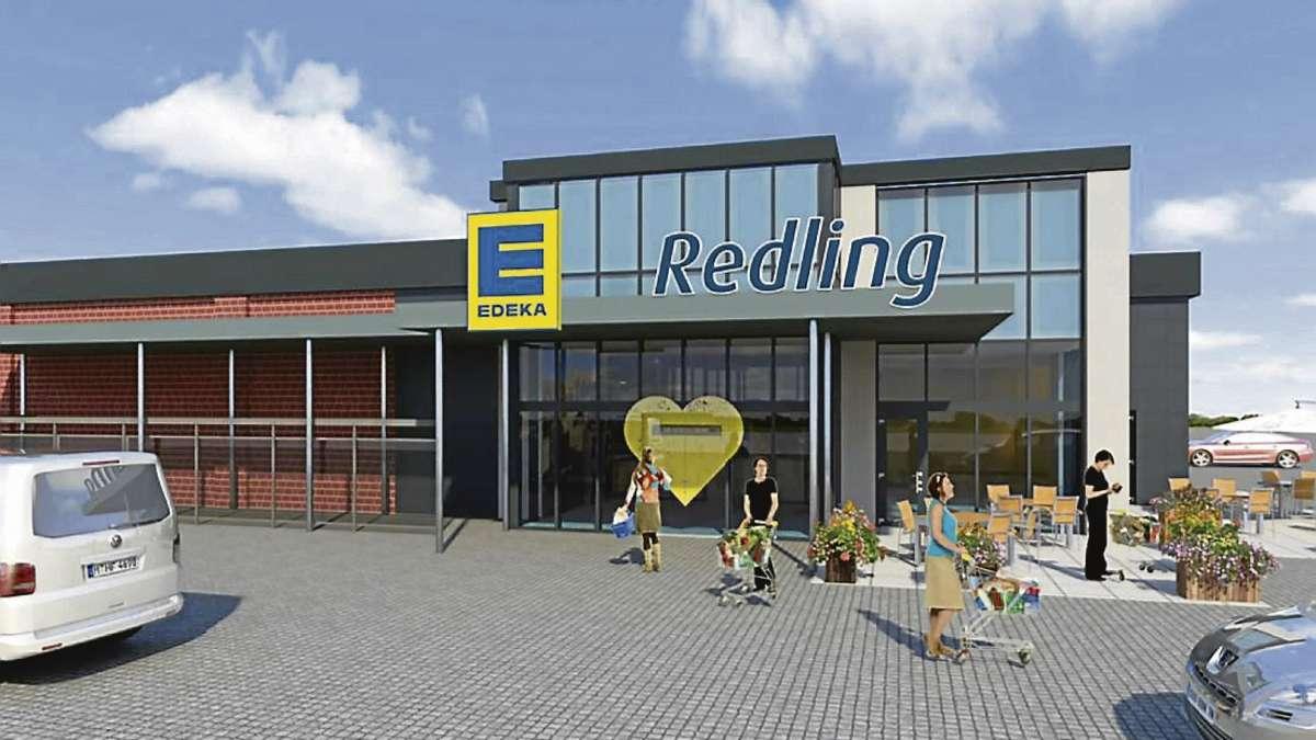 neuer edeka soll im mai 2016 fertig werden pl ne f rs alte einkaufszentrum langwedel weser. Black Bedroom Furniture Sets. Home Design Ideas