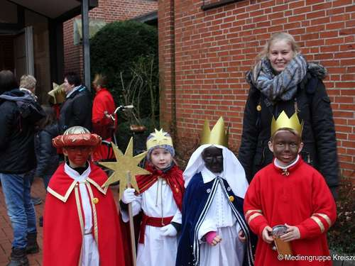 Sternsinger in Twistringen unterwegs