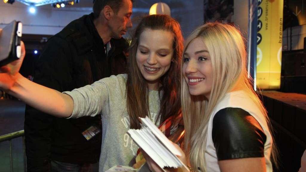Tausende Wollen Ein Selfie Mit Bianca Und Julian Bibis Beauty