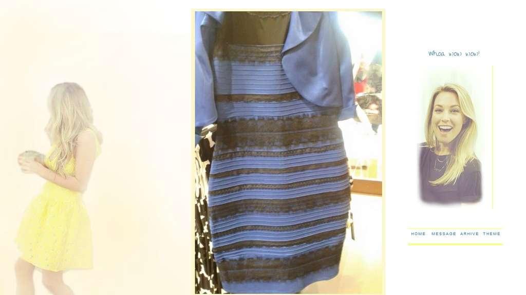 Blau schwarzes kleid stern tv
