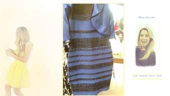 sfondo pc windows: kleid blau weiß oder schwarz gold