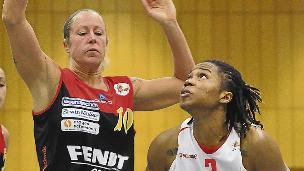 Match up 2: Melissa Jeltema (l.) gegen Janae Young.