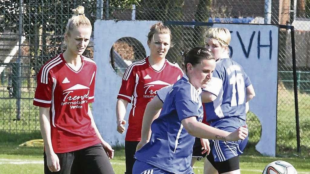 Holtebüttels Landesliga-Fußballerinnen nach 0:2 gegen TSV Bassen ...