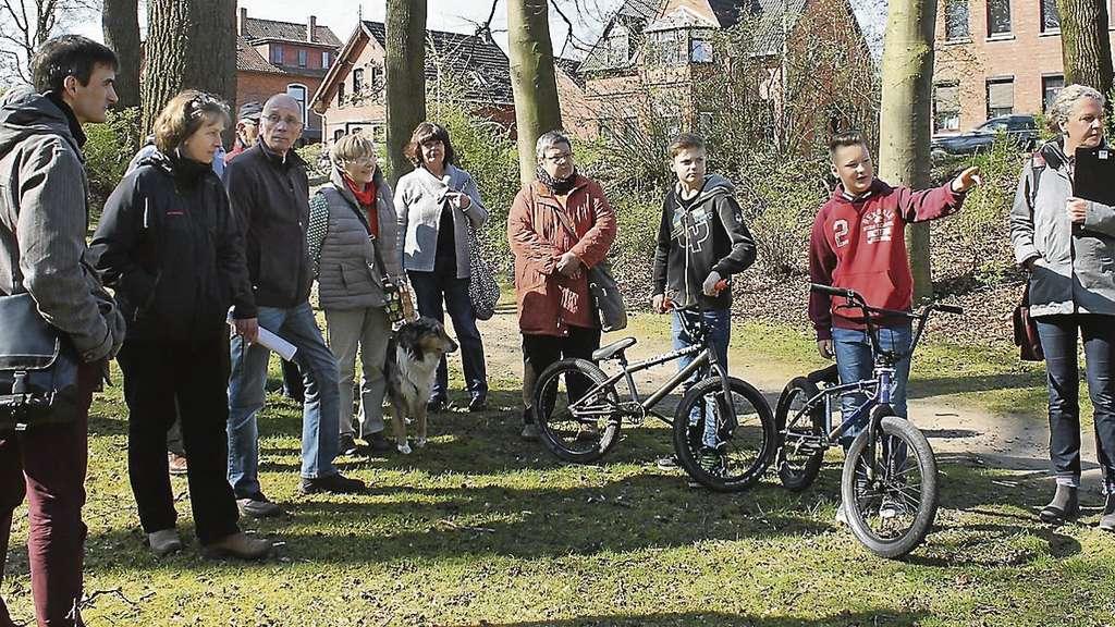 Umgestaltung Des Bürgerparks Arbeitskreis Und Stadt Ziehen Resümee