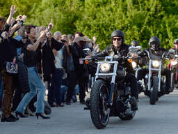 Peter Maffay: Harley-Parade in Bad Tölz