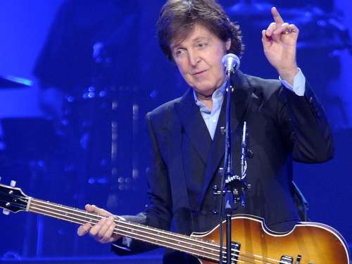 Paul McCartney beim Roskilde Festival