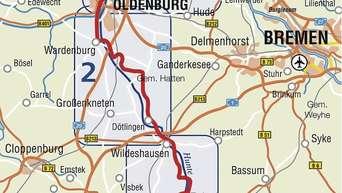 Neue Karte Zeigt Den Hunte Radweg Und Sehenswurdigkeiten An Der
