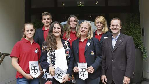 Fünf Jugendliche entdecken mit dem Austauschprogramm von