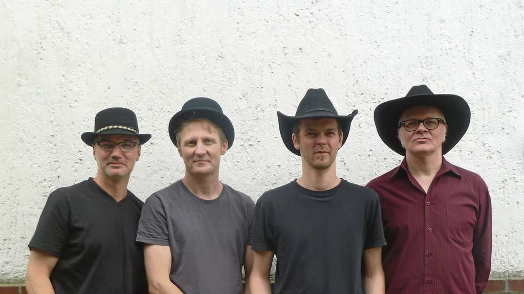 """Honkytonk with the Copycatz"": Georg Heuermann, Thomas König, Jan Heyer, Sven Schriever."