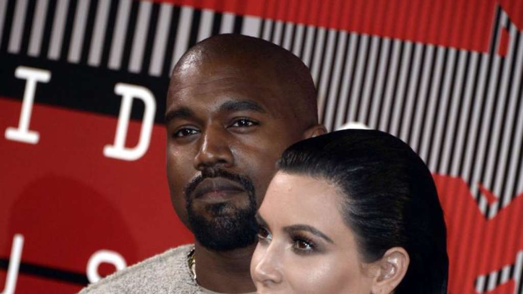 Große Ambitionen: Kayne West und Kim Kardashian bei den MTV Video Music Awards. Foto: Paul Buck