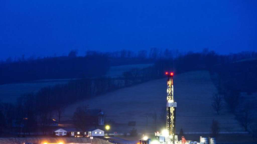 Fracking im US-Bundesstaat Pennsylvania. Foto: Jim Lo Scalzo