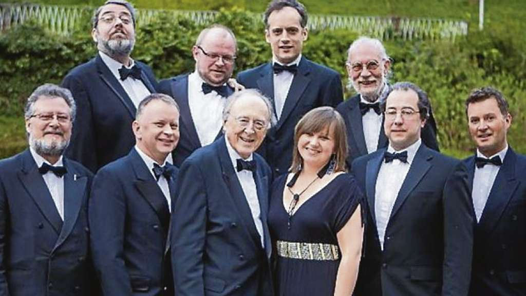 The Big Chris Barber Band.
