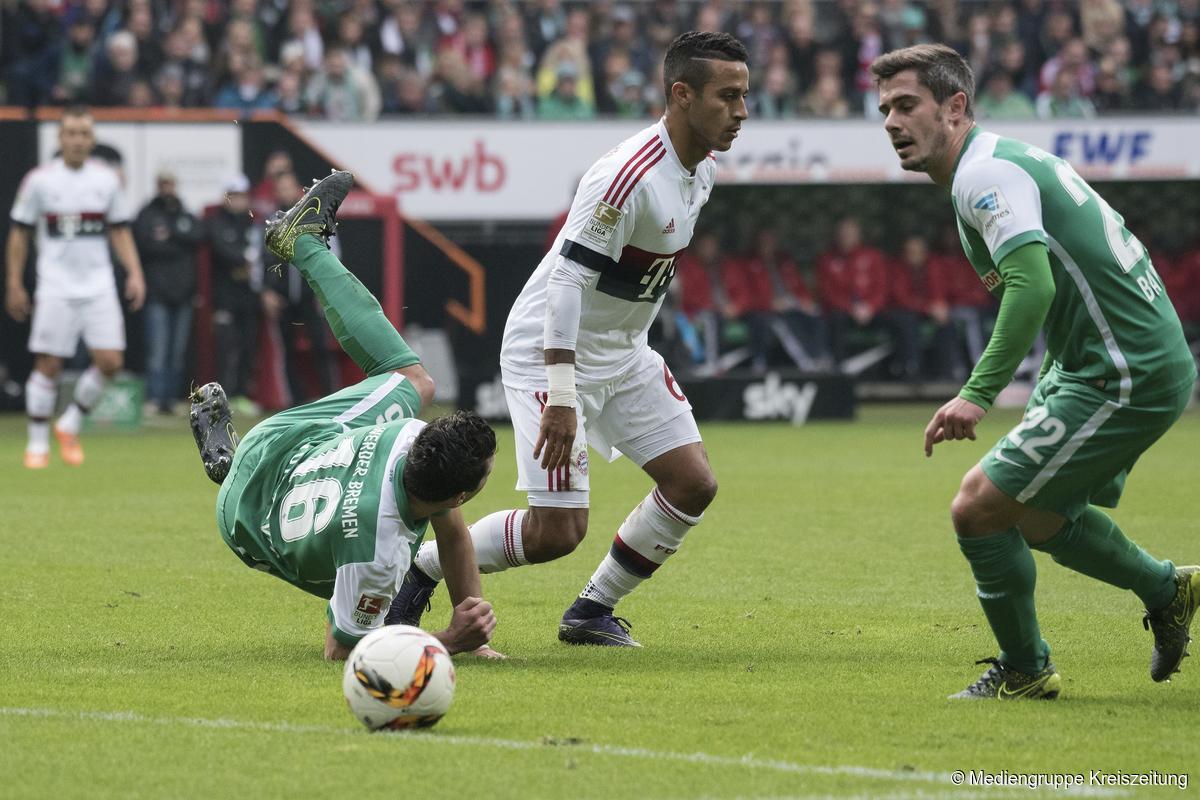 Werder Bremen Verpasst Coup Gegen Bayern München Knapp Werder