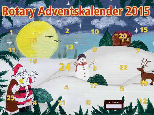 Adventskalender Rotary-Club Bruchhausen-Vilsen