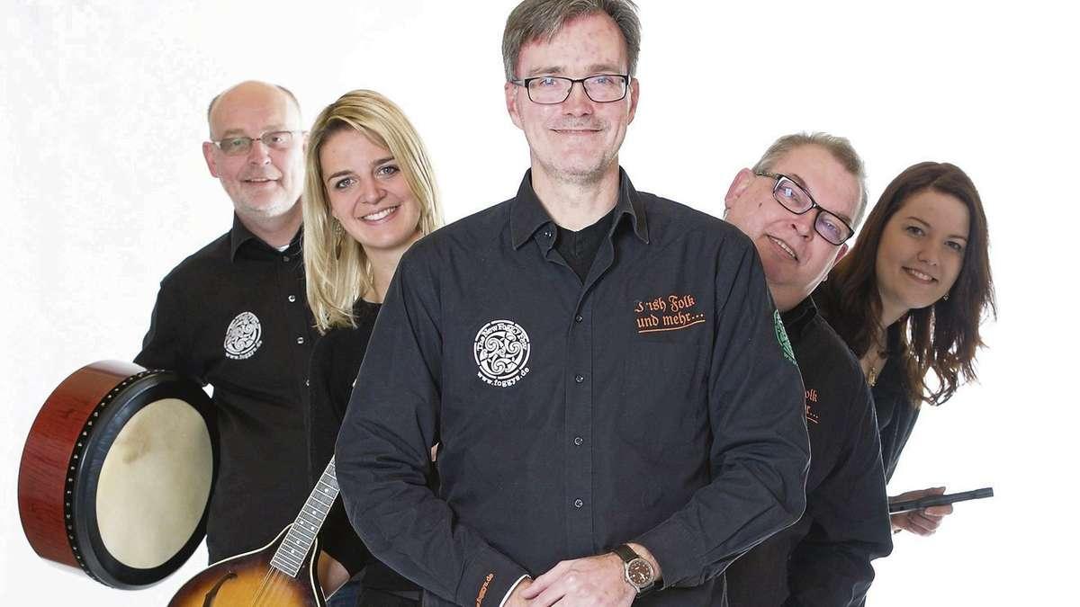 """Irish Heartbeat"""" mit den """"Foggys"""" und Gästen aus Nordirland und Kiel ..."""