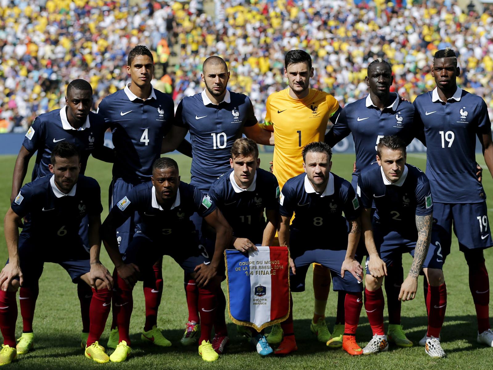 Französische Nationalmannschaft Kader