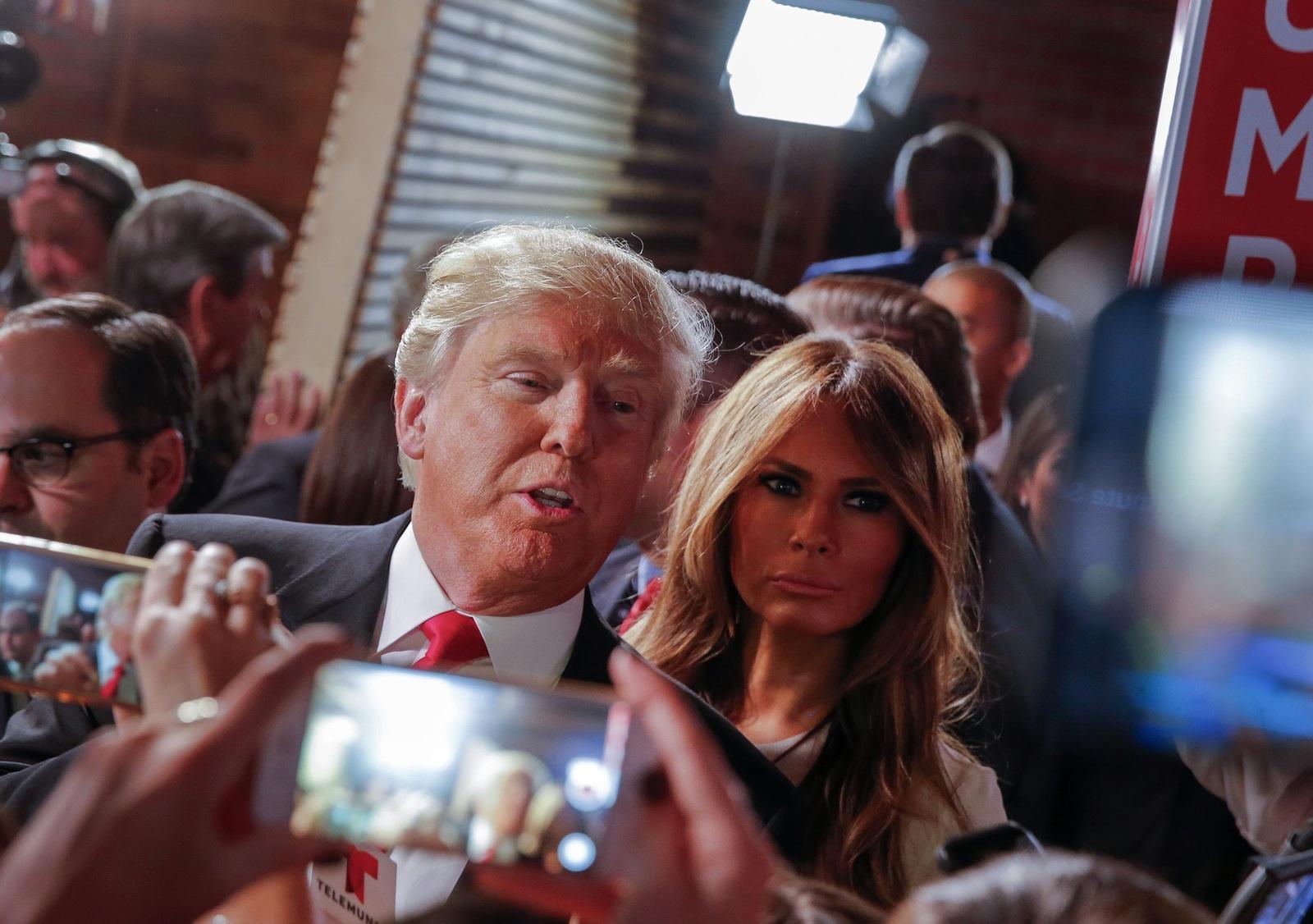 фото супруги трампа смотреть