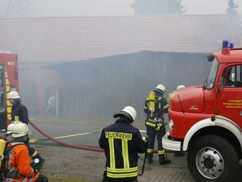 Brand in Hassel