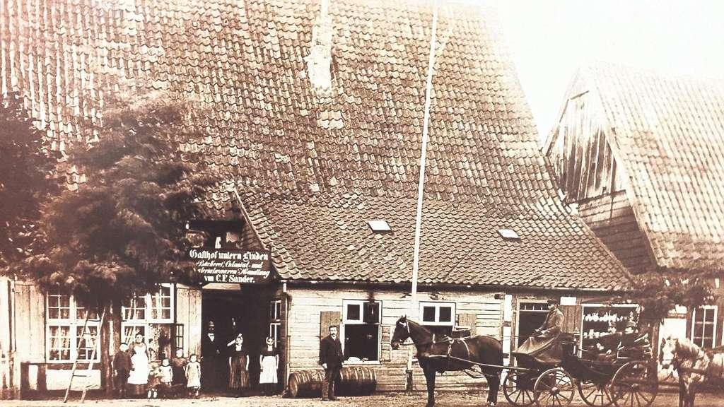 Lichtspieltheater und Gaststätte warne in Rahden in einem Gebäude ...