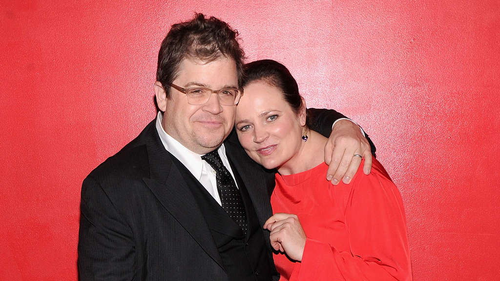 Michelle McNamara mit Patton Oswalt