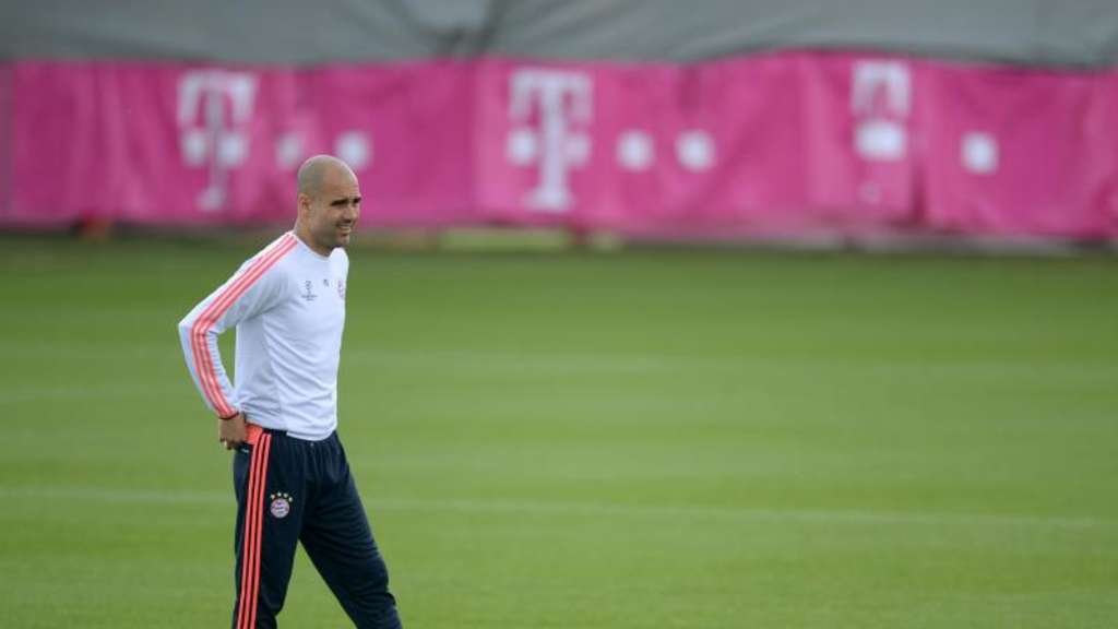 Trainer Pep Guardiola will mit dem FC Bayern ins Champions-League-Finale. Foto: Andreas Gebert