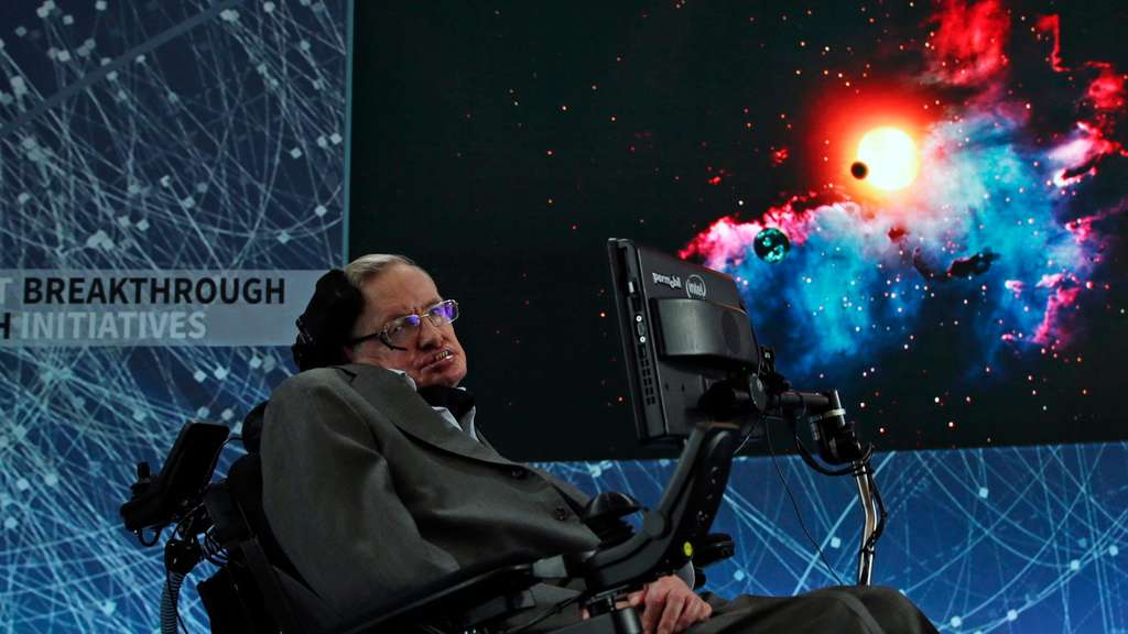 Yuri Milner and Stephen Hawking announce new Space Exploration In