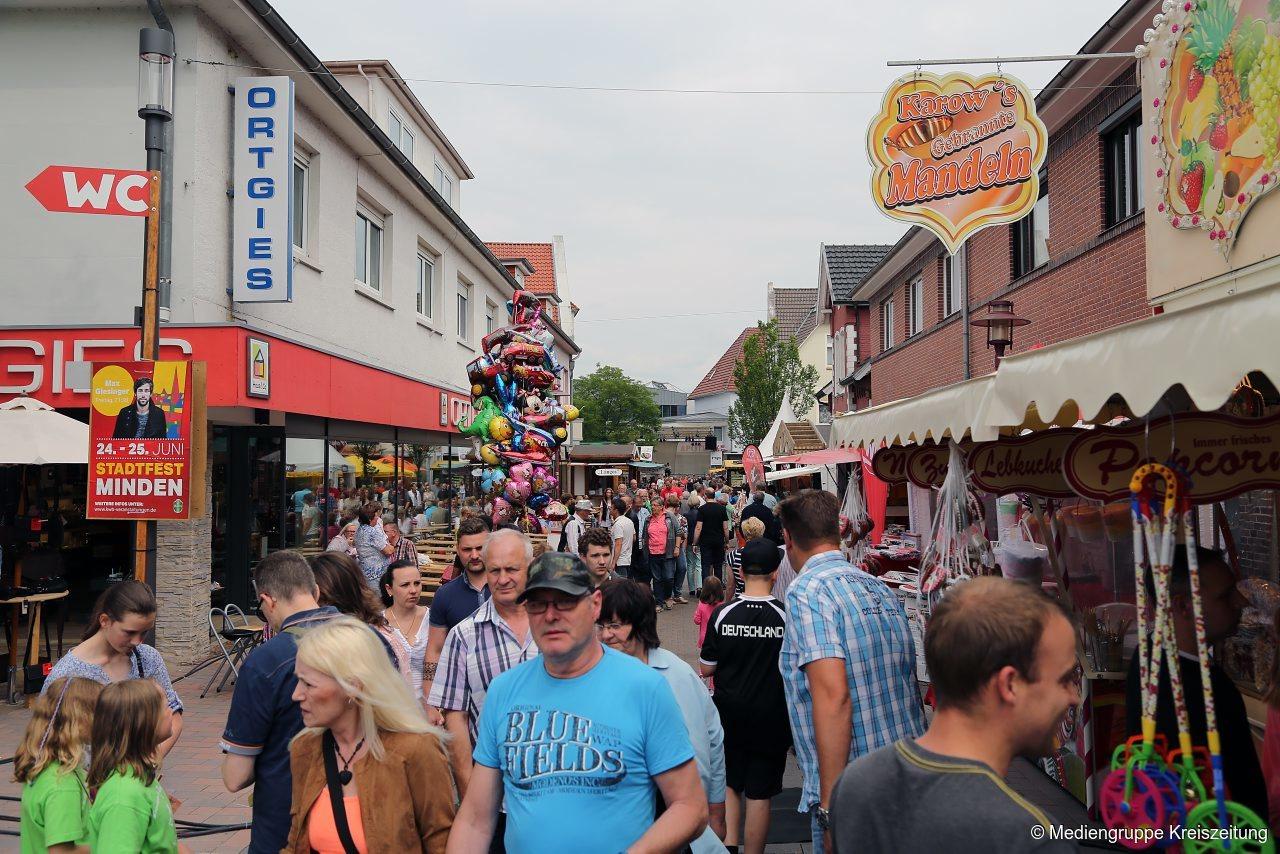 Rahdener Stadtfest sorgt mit abgespecktem Programm für Kritik | Rahden