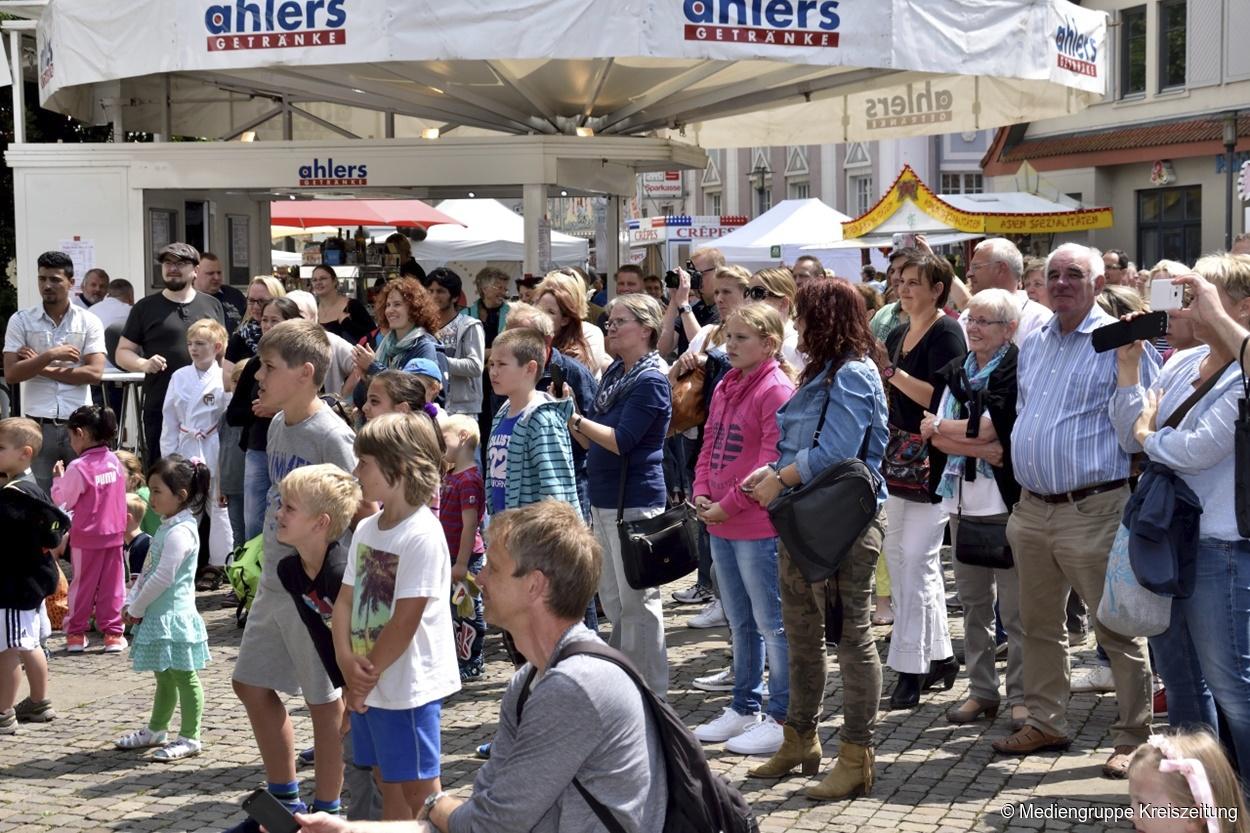 Stadtfest Achim 2017: Top-Act Torfrock, Fernsehkoch Sebastian Lege ...