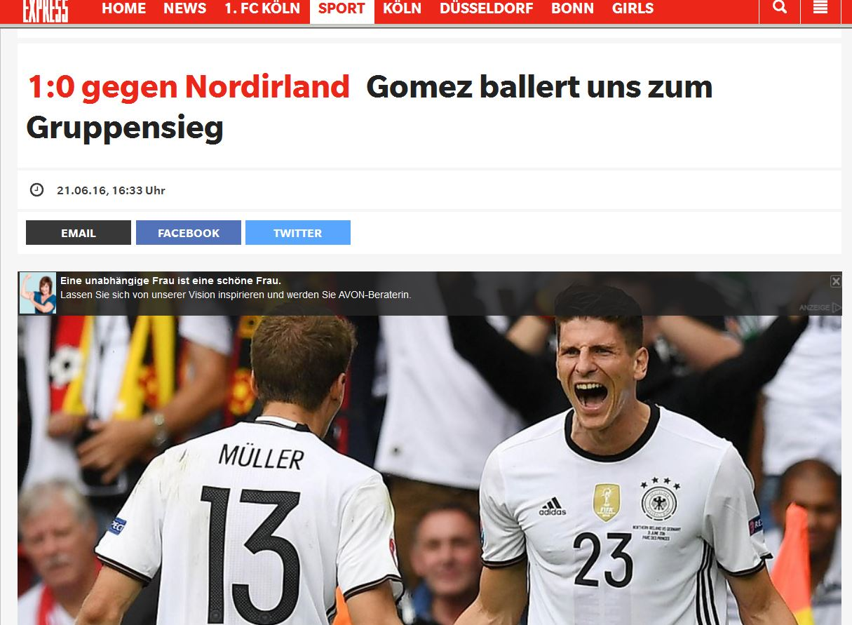 internationale presse deutschland nordirland