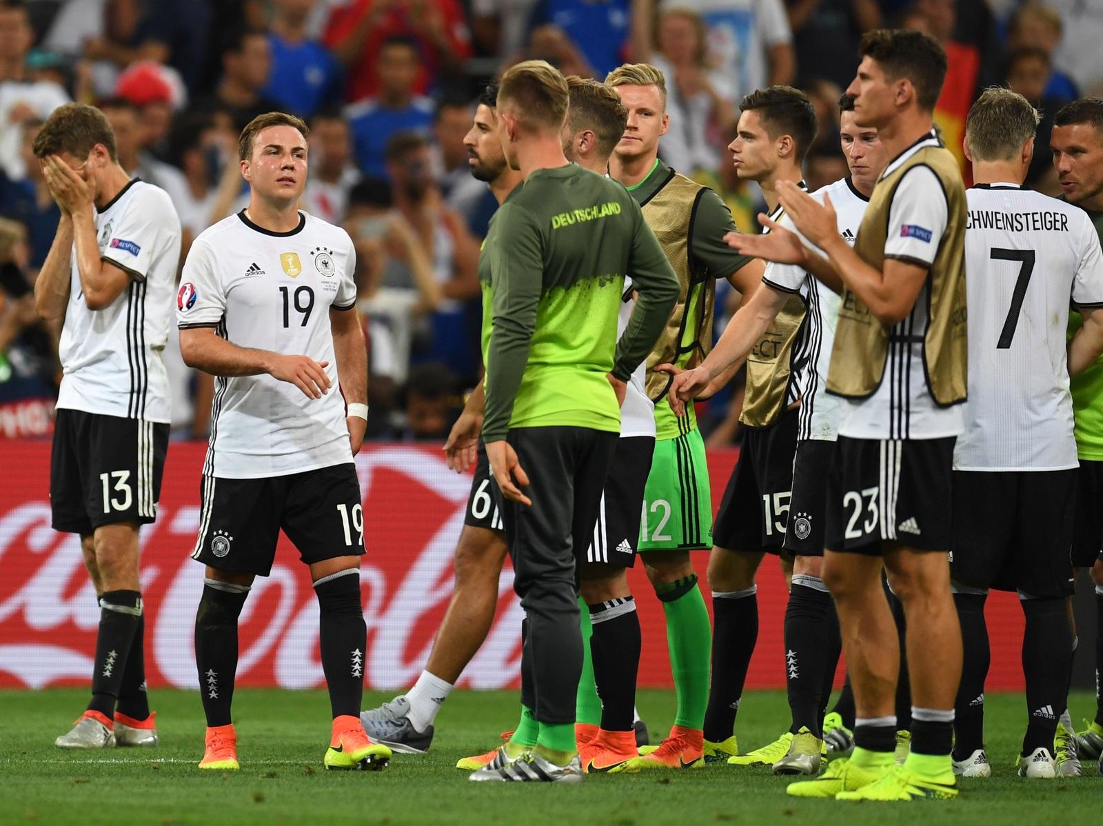 Für Deutschland war im EM-Halbfinale gegen Frankreich Endstation.