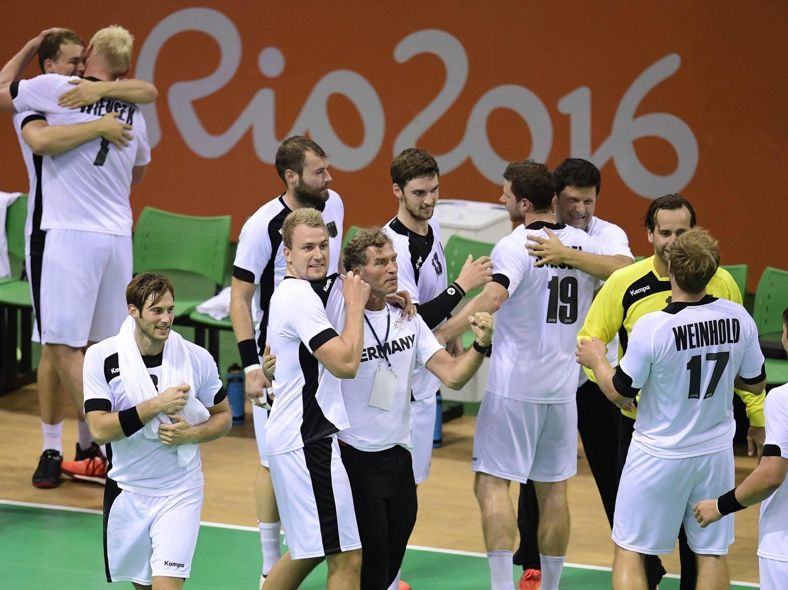 olympia heute handball