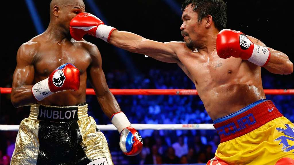 Floyd Mayweather Jr. v Manny Pacquiao.