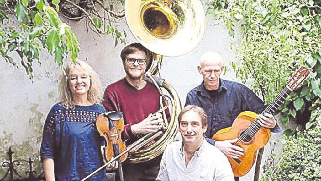 Skupa Heisst Das Bremer Quartett Dass In Etelsen Ein Wohnzimmerkonzert Spielen Wird
