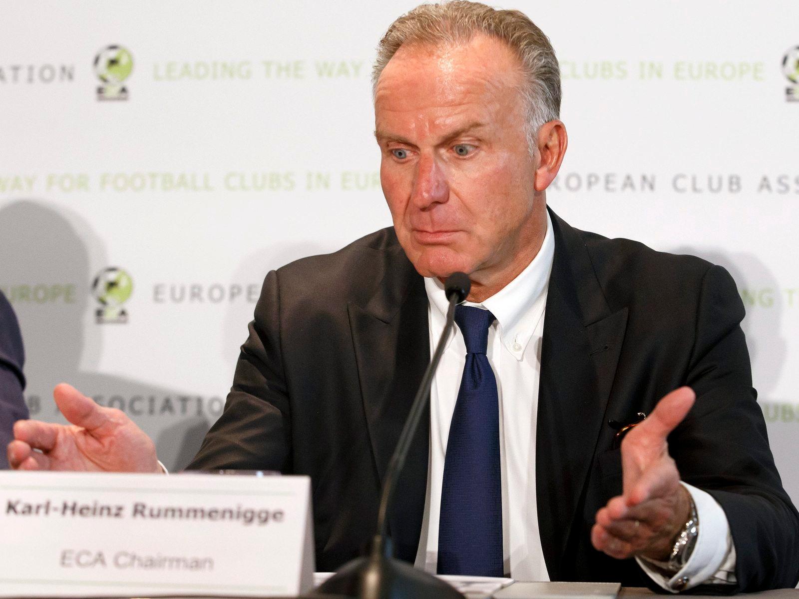 Job Angebot Rummenigge Sagt Fifa Boss Infantino Ab