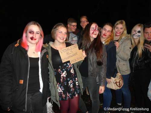 Halloween-Party in Wittorf