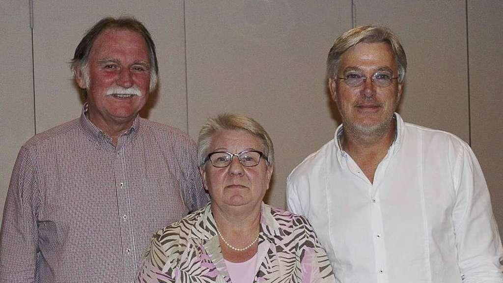 Die Wählergemeinschaft WiV (Wir in Visselhövede) sitzt mit Eckhard Langanke (l.), Irene Becker und Matthias Grube im Stadtrat und zieht eine erste Bilanz.