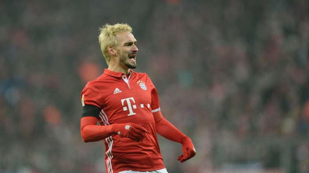 Profifussballer Des Fc Bayern Munchen Mats Hummels Ist Blond Und Das
