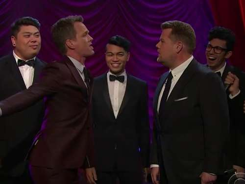 Neil Patrick Harris und James Corden liefern sich Broadway-Battle