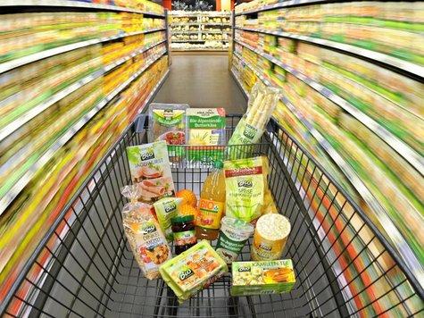 BioProdukte werden meist im Supermarkt gekauft