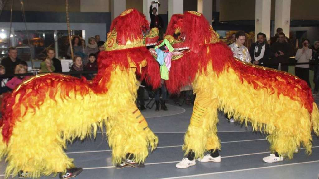 Chinesisches Neujahrsfest mit rund 1100 Besuchern im Übersee-Museum ...