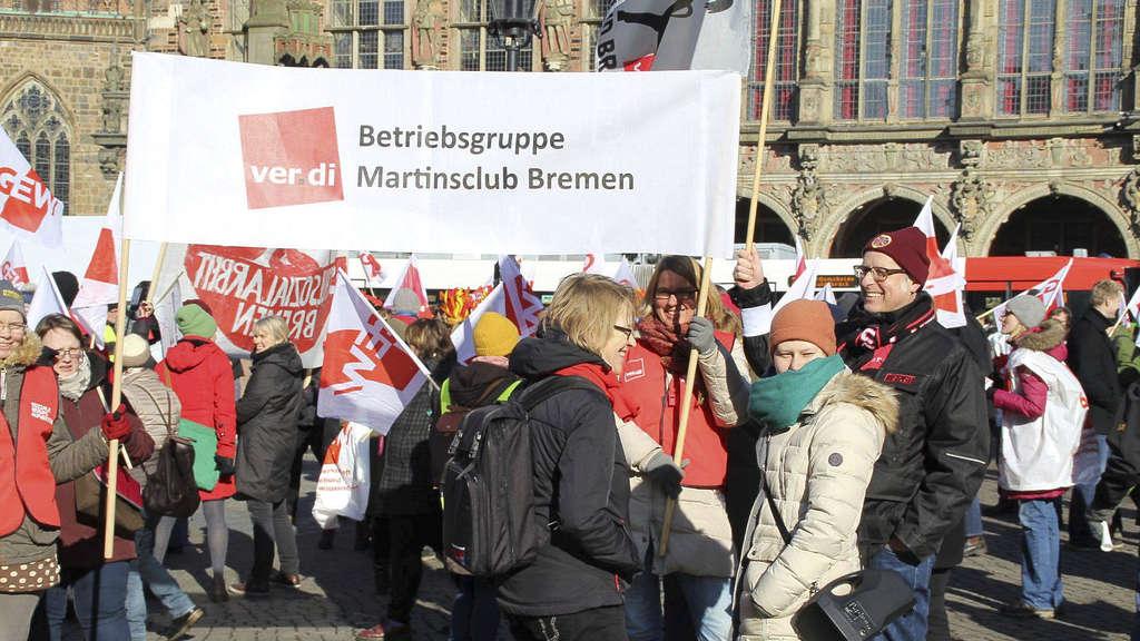 Warnstreik In Bremen Grenzen Sind überschritten Bremen