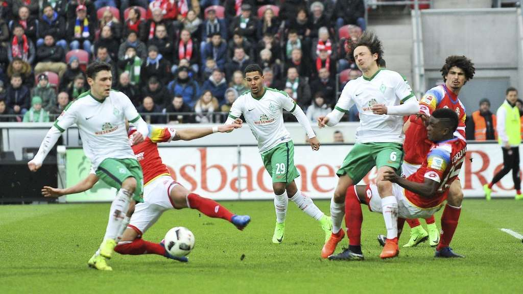 Liveticker Zum Sv Spiel Werder Bremen Gegen 1 Fsv Mainz 05 Werder