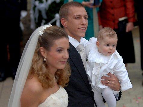 Prinz Louis und Prinzessin Tessy Ehe zerrüttet