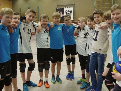 Volleyball: TV Badens U13 bejubelt den Bezirkstitel