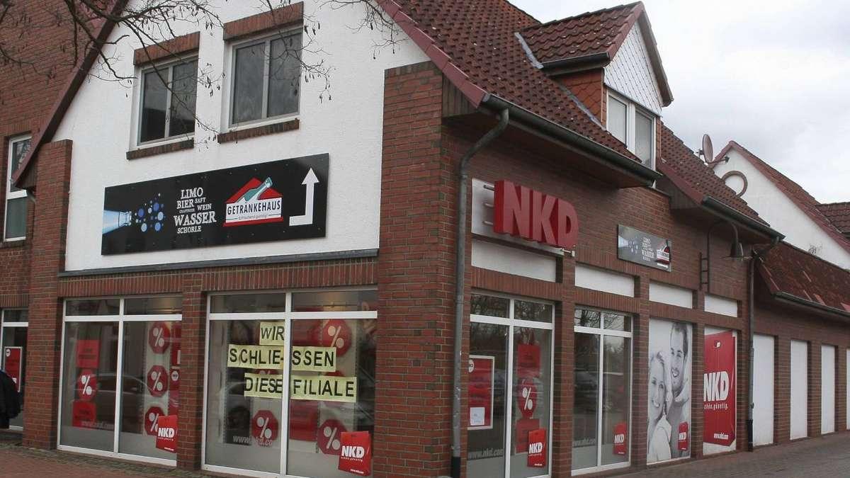Im Ortskern Bruchhausen-Vilsen macht ein Geschäft nach dem anderen ...